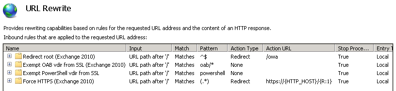 how to stop iis remembering redirects
