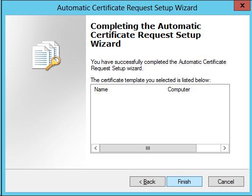 Active directory domain controllers and certificate auto the steps above will lead to the following setting yadclub Gallery
