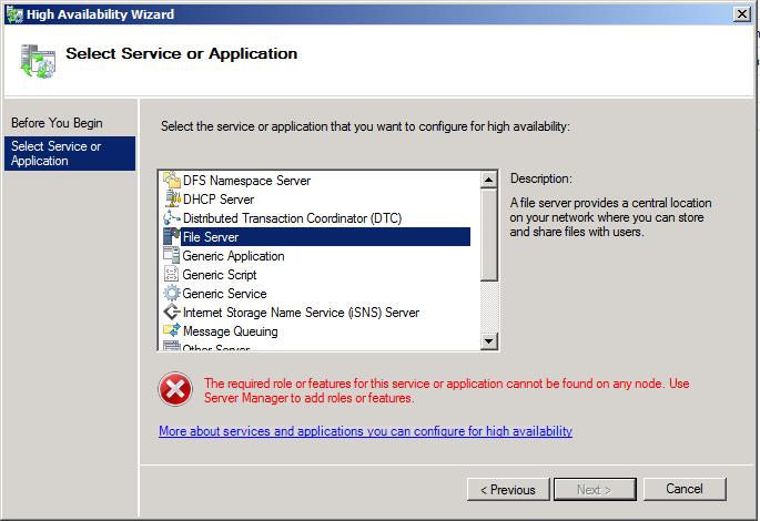 Some Windows Server 2008 R2 Failover Cluster Notes | Morgan