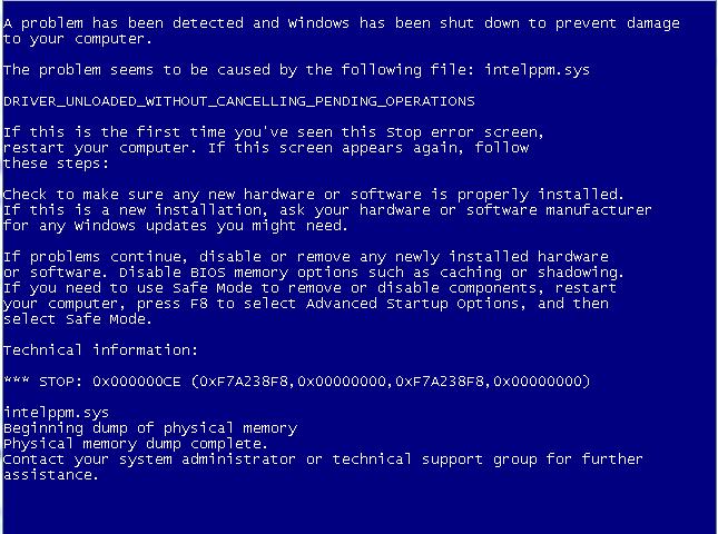 Blue Screen (BSOD) on VirtualBox VM | Morgan Simonsen's Blog