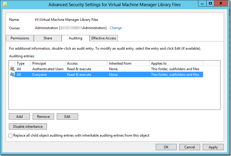 Troubleshooting ISO file sharing in System Center Virtual Machine